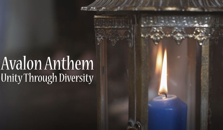 The Unity Candle and the Avalon Anthem